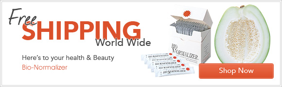 Free Shipping World Wide -Here's to your health and beauty -Bio-Normalizer
