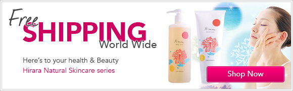 Free Shipping World Wide -Here's to your health and beauty - Hirara
